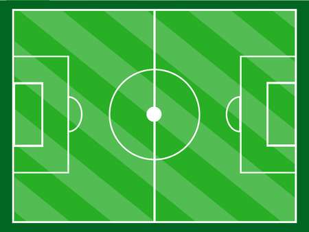 backdop: green soccer or football field,Diagonal grass vector
