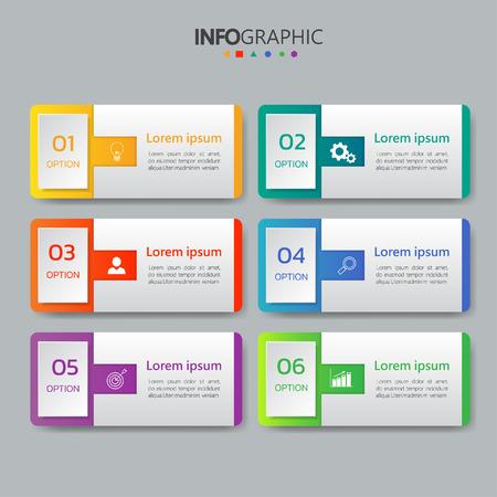 Designvorlage für Infografiken