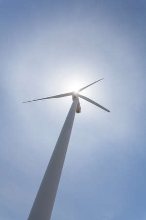 clear sky: Wind Turbines with a clear sky. Stock Photo