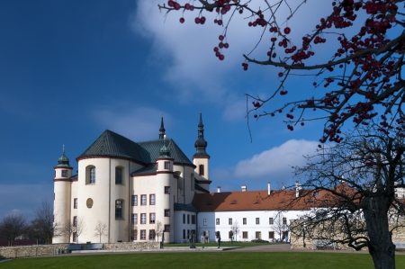 Temple of the Holy Cross Finding, Litomysl, Czech Republic