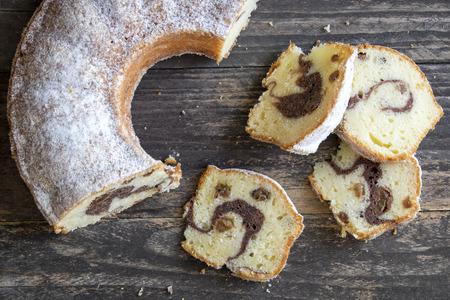 Marble cake Reklamní fotografie