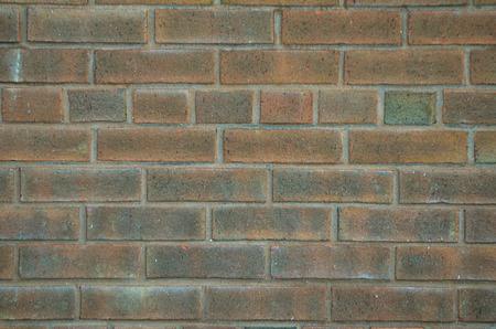 redbrick: A brick wall