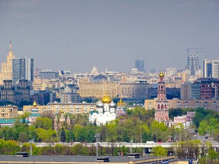 gory: Novdevichiy monastery  Vorobievy Gory  Editorial