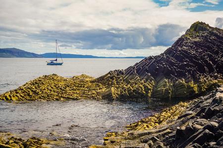 Shore Island, Scotland (The Isle Of Staffa, Scotland)