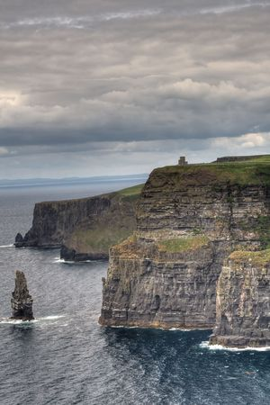 Cliffs of Moher in Ireland. photo