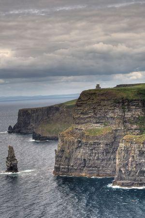 Cliffs of Moher in Ireland. photo