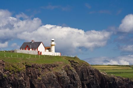 The lighthouse in Dingle, Ireland. Stock Photo - 3368675