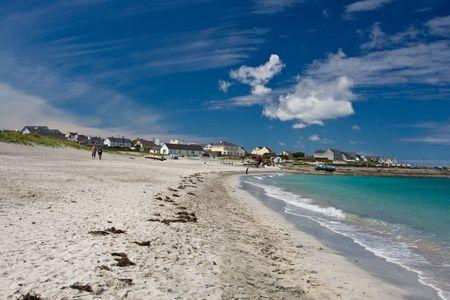 aran islands: Inisheer Island from the Aran Islands, county Clare, Ireland.
