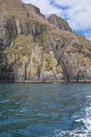 blasket islands: Inishnabro Island from the Blasket Islands in Ireland.