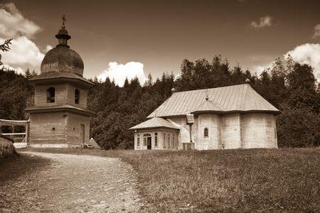 hermitage: Tarcau hermitage in Romania.