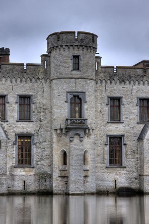 brussel: Bouchout Castle near Brussel, Belgium.