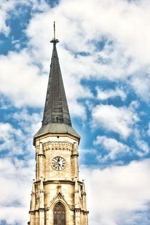 napoca: St. Michael Church in Cluj Napoca, Romania.