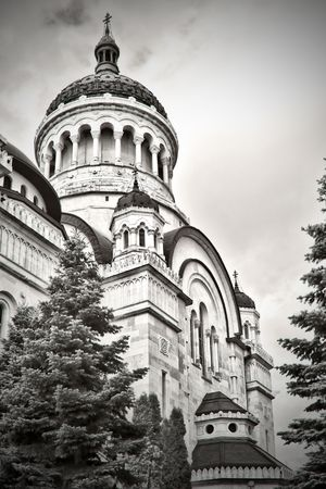 cluj: Orthodox cathdreal in Cluj, Romania
