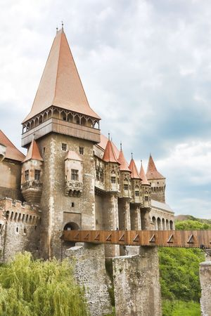 Huniazi Castle in Romania. Stock Photo - 4842307