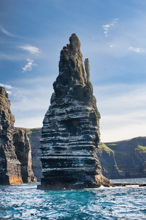 Landschaft von die Cliffs of Moher in Irland