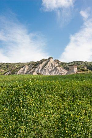 phenomenon: Komolithi geological phenomenon at Potamida in Crete, Greece