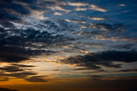 nafplio: Beautiful sunrise on the coast at Nafplio in Greece Stock Photo