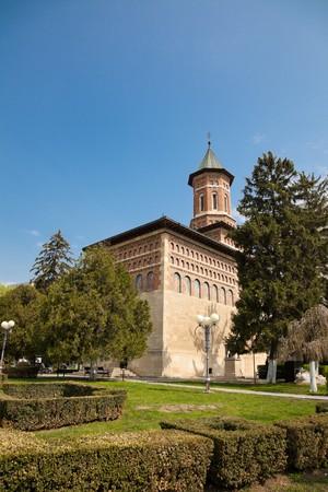 'saint nicholas': Saint Nicholas Church in spring in Iasi city, Romania.