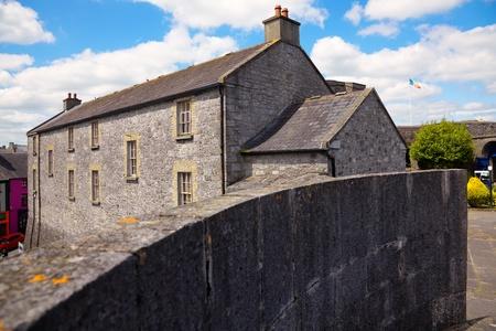 county meath: Athlone castle in summer, Co. Westmeath, Ireland. Editorial