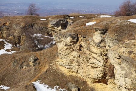 Beautiful landscape of Repedea nature reserve in spring, Iasi, Romania  Stock Photo - 12953916