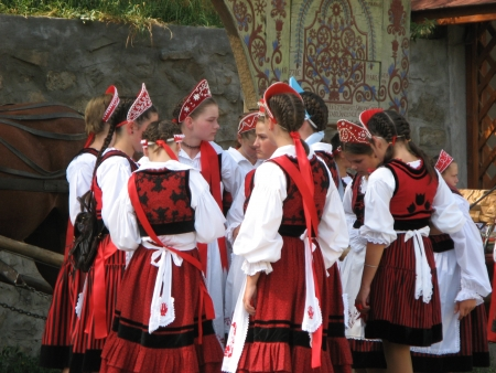 ZETEA, HARGHITAROMANIA - SEPTEMBER 7: Young people performing the wedding tradition on September 7, 2008 in Zetea village Harghita county, Romania. Editorial