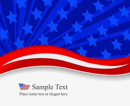 onafhankelijkheid dag achtergrond Stock Illustratie