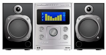 sub woofer: vector hi-fi music center
