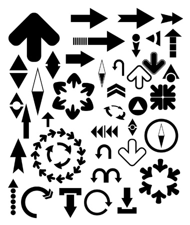 vector design elements - arrows Vector