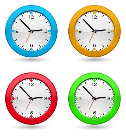 haste: clock icon design Illustration