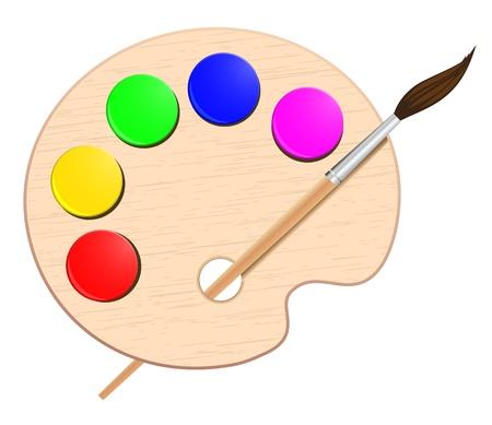 art palette: palette artist