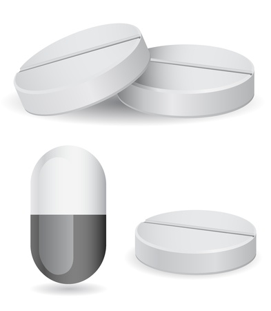 pills vector icon