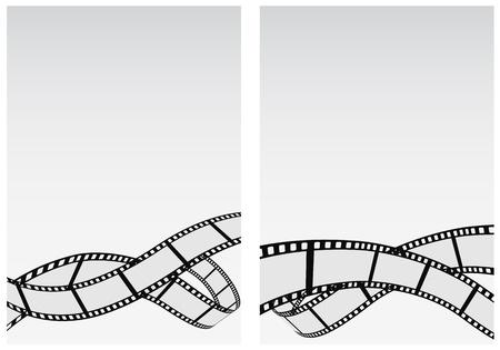 filmrol zakelijke achtergrond Stock Illustratie