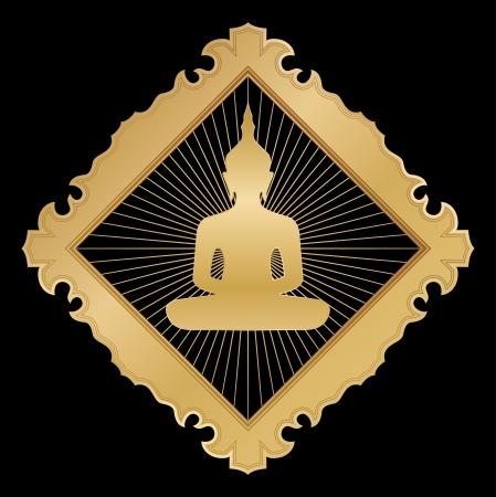thai buddha: Buda Vectores