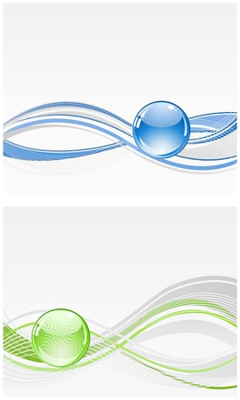 3d abstract sphere bubble background