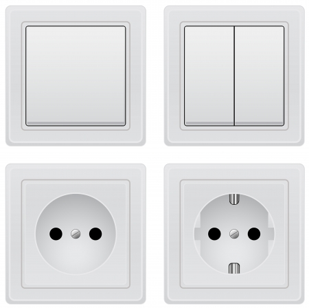 switcher: outlet and switcher Illustration