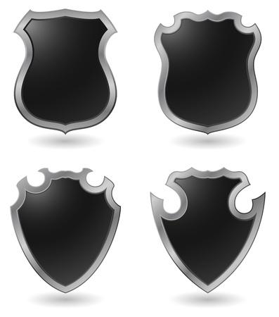 shield badge vector icon