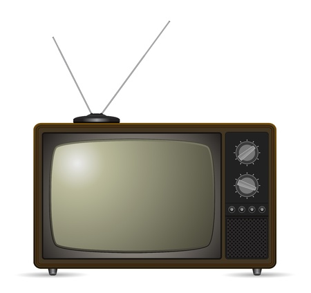 retro tv vintage icon