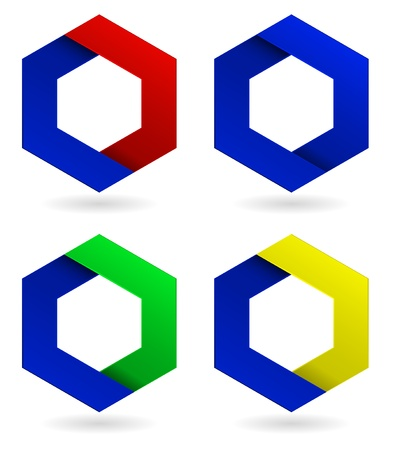 abstract corporate icon