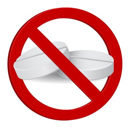 no drug sign icon