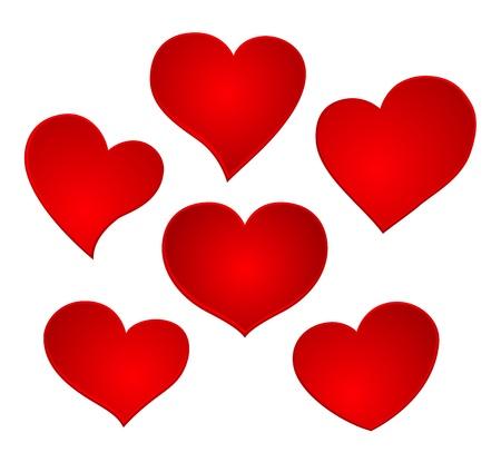 hart valentijn icon set