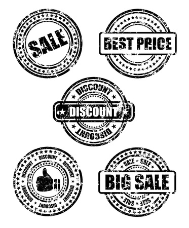 sale business stamp Vector