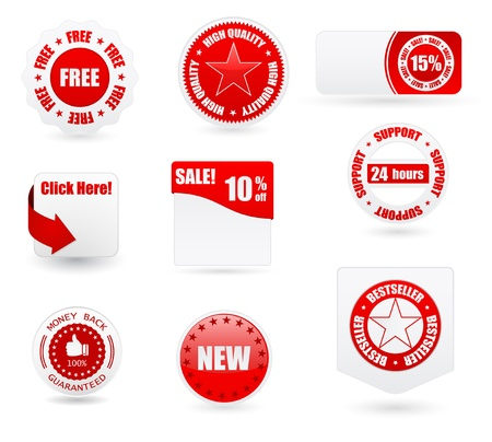 sale business banners ans labels