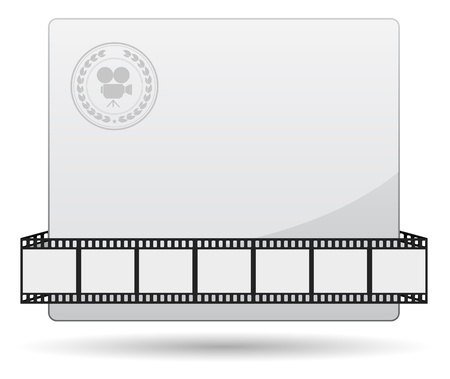 film strip:  film strip card
