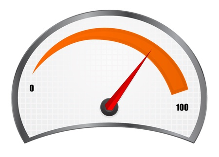 accelerate: speedometer download Illustration