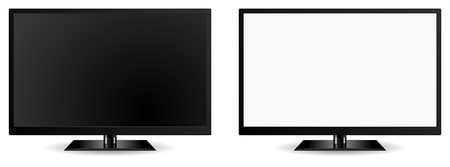modern tv vector icon Illustration