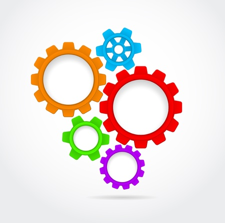 gears business teamwork background