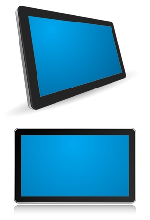 tablet computer 3d icon Stock Vector - 21507121