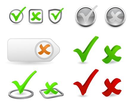 zecke: H�kchen 3d icon set