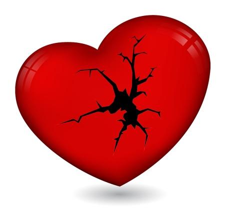 gebroken hart icon