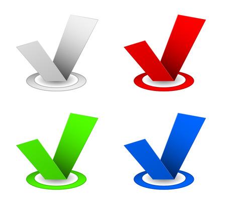 checkbox icon set
